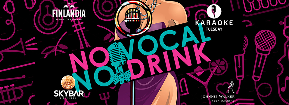 Skybar No Vocal No Drink Karaoke